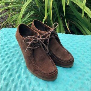 Brown Ralph Lauren Leather Denver Shoes